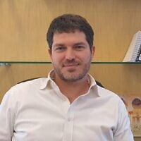 The new director general of the Energy Ministry, Lior Shilat, October 24, 2021. (Energy Ministry)