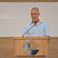 New Shin Bet chief Ronen Bar on October 11, 2021. (Shin Bet)