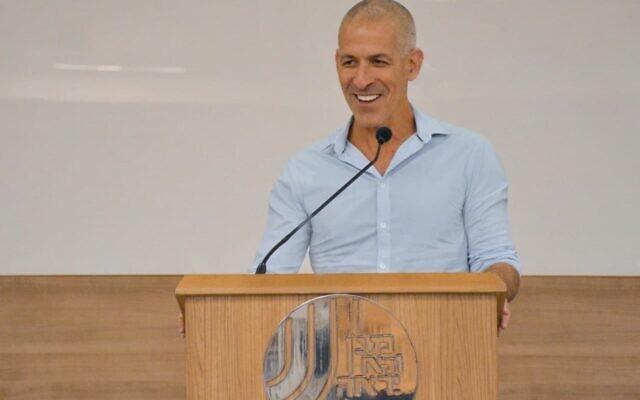 New Shin Bet chief Ronen Bar on October 11, 2021 (Shin Bet)