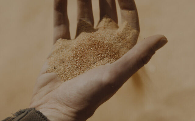 The Spice – Dune's most precious natural resource and the most valuable commodity in the universe – in a scene from 'Dune.' (Courtesy of Warner Bros. Pictures and Legendary Entertainment)